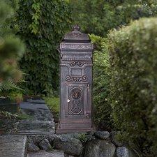 Lesli Living Nostalgie Briefkasten Alu - Guss bronze
