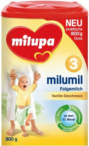 Milupa Milumil 3 Folgemich Vanille (800 g)