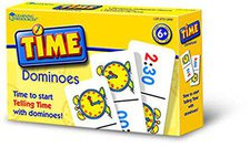 Learning Resources Time Dominoes (englisch)