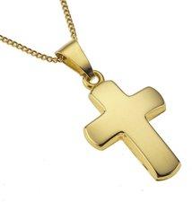 ZEEme Kreuz Gelbgoldkette (500341047-38Z)