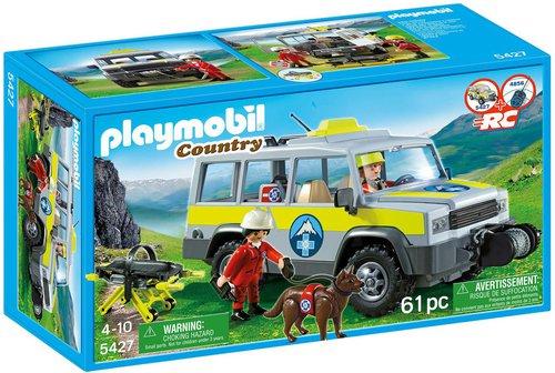 Playmobil Country - Einsatzfahrzeug mit Bergrettung (5427)