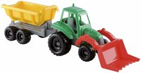 Ecoiffier Tractor And Trailer Beach Toy