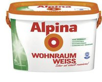 Alpina Farben Wohnraumweiss 5 Liter