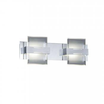 trio wandleuchte 2 flg led warmwei 224610206 preisvergleich ab 69 89. Black Bedroom Furniture Sets. Home Design Ideas