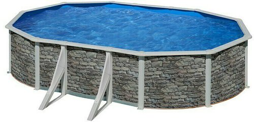 my pool Feeling Stone Ovalbecken 500 x 300 x 120 cm