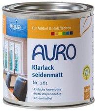 AURO Klarlack seidenmatt 0,375 Liter (Nr. 261)