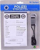 Johntoy Polizei Strafzettel