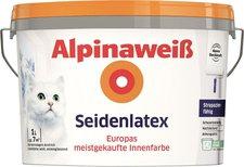 Alpina Farben Alpinaweiß Seidenlatex 1 Liter