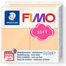 Fimo effect 56 g pfirsich