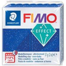 Fimo effect 56 g glitter-blau
