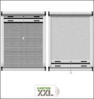 Schellenberg Insektenschutz- und Verdunkelungs-Rollo für Dachfenster weiß (90 x 170 cm)