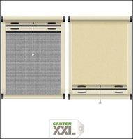 Schellenberg Insektenschutz- und Verdunkelungs-Rollo für Dachfenster beige (90 x 170 cm)
