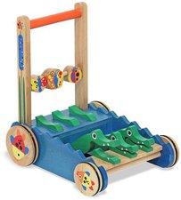 Melissa & Doug Chomp & Toy Push Clack Alligator