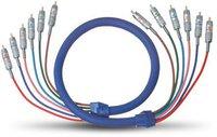 Oehlbach 2125 Blue Magic 5.1 Audio-Cinchkabel (1m)