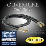 Goldkabel Ouverture Cinch Stereo (0,5m)