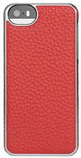 Adopted Leather Wrap Case (iPhone 5) red