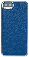 Adopted Leather Wrap (iPhone 5) blue