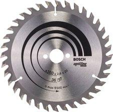 Bosch Optiline Wood Kreissägeblatt 190 x 30 x 2,6 mm 36 Z (2 608 640 616)