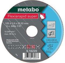 Metabo Flexiarapid Super Inox A 46-U 180 x 1,6 x 22,23 mm (6.16226.00)