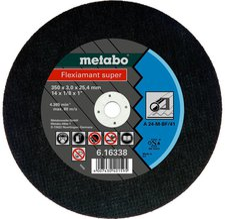 Metabo Flexiamant Super Stahl A 24-M 350 x 3 x 25,4 mm (6.16338.00)