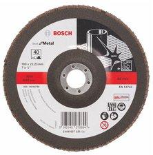 Bosch Blue Metal-top Ø 180 mm Korn 40, gerade, Glasgewebe (2 608 607 330)