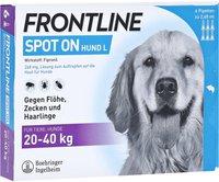 Merial Frontline combo Spot on Hund L Einzeldosispipetten (6 Stk.)