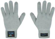 hi-Fun Hi-Call Bluetooth-Handschuhe für Smartphones (Damen, grau)