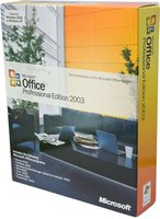 Microsoft Office 2003 Professional Edition (DE) (Win) (OEM) (1 User)