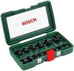 Bosch HM-Fräserset 1/4 Schaft - 15-teilig