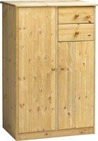 Steens Furniture Ltd Mario 022-30 Highboard gelaugt geölt 2 Türen 2 Schubladen