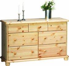 Steens Furniture Ltd 20221919 Kommode Max 77 x 120 x 40 cm Kiefer massiv natur lackiert
