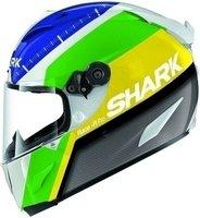 Shark Race-R Pro Carbon Racing Divis weiß/grün/gelb