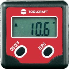 Toolcraft Elektronischer Winkelmesser Ideales Gerät zur Winkele