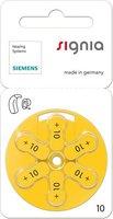 Siemens Typ s10 Zink-Luft Hörgeräte-Batterien (5 St.)