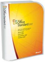 Microsoft Office 2007 Standard (DE) (Win) (Box)