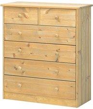 Steens Furniture Ltd Mario 013/30 Kommode gelaugt geölt 2+4 Schubladen