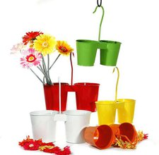 CEPEWA Bertopf Springflower Hänge-Topf 2er