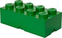 LEGO Aufbewahrungs-Box 1 x 8 Grün
