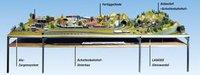 Noch Schattenbahnhof-Unterbau 220 x 135 cm (62221)