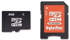 ByteStor microSDHC 8GB Class 4 (BYTEZMSDH8G4)