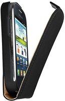 Mumbi Premium Echleder Flip Case für Samsung Galaxy Fame