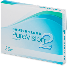 Bausch & Lomb PureVision 2 HD (3 Stk.) +3,00
