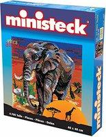 Ministeck Afrika: Elefant