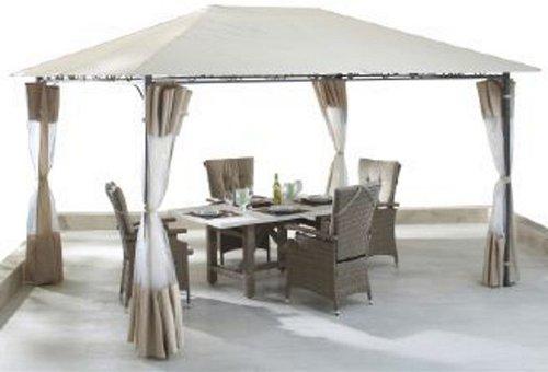 grasekamp seitenteil antik pavillon 3 x 4 m g nstig online kaufen. Black Bedroom Furniture Sets. Home Design Ideas