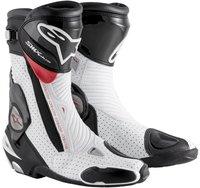 Alpinestars S-MX Plus Boot weiss/rot/vented