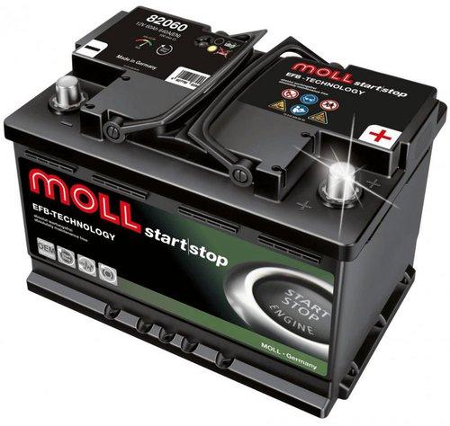 MOLL EFB 12V 60Ah (82060)