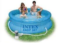 Intex Pools Easy-Set Clearview Pool 244 x 76cm
