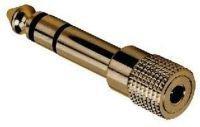 AKG EK 335 Adapter 3,5 mm Mini-Klinke auf 6,3 mm Stereo-Klinke