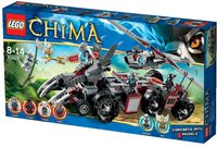 LEGO Legends of Chima - Worriz Großer Wolfstruck (70009)
