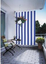 Peddy Shield Senkrecht-Sonnensegel blau-weiß